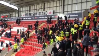 getlinkyoutube.com-Millwall FC fans at Rotherham United away!