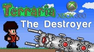 getlinkyoutube.com-Terraria Xbox - The Destroyer [107]