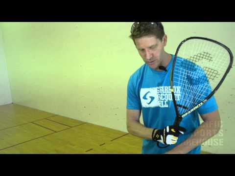 Hit a Perfect Backhand Swing in Racquetball