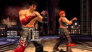 getlinkyoutube.com-Tekken Tag Tournament 2 - [Medium - Arcade Battle] - Hwoarang & Jin Playthrough