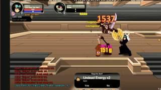 getlinkyoutube.com-aqw chaos slayer class solo and high crits!!!