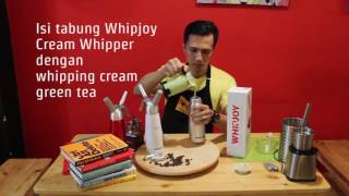 Cara Membuat Whipped Cream Green Tea