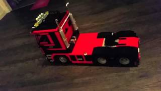 Lego truck scania 143 self driving
