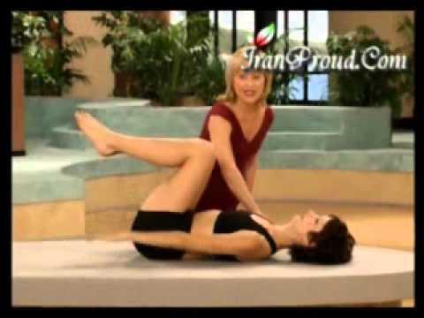 Pilates I  گلچین نورحقیقی: ورزش شکم و باسن پیلاتیز
