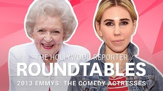 getlinkyoutube.com-Kristen Bell, Betty White and more Comedy Actresses on THR's Roundtable | Emmys 2013