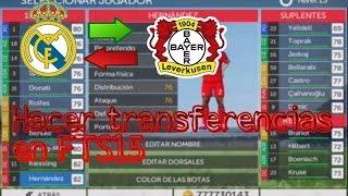 Como hacer transferencias en FTS15