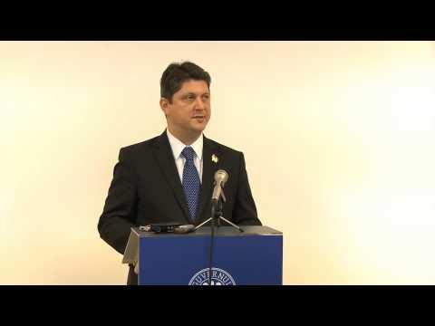 Participarea ministrului afacerilor externe, Titus Corlăţean, la inaugurarea noului sediu al Biroului regional pentru Europa Centrală și de Est al Organizației Internaționale a Francofoniei