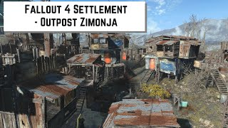 getlinkyoutube.com-Fallout 4 Settlement - Outpost Zimonja
