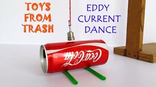 getlinkyoutube.com-Eddy Current Dance | English | Move a can without touching it