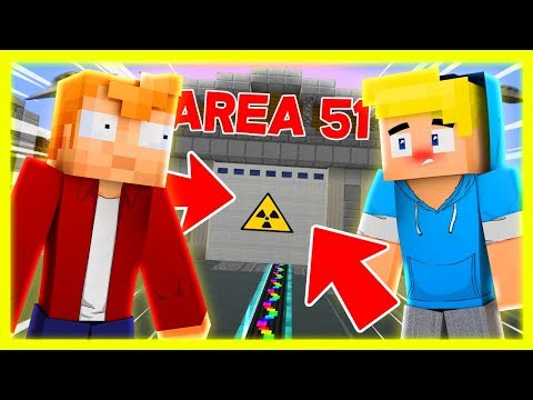 SBRISER E SENSE ENTRANO NELL'AREA 51! - Minecraft ITA
