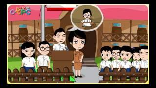 การเลือกประธานนักเรียน - สังคม ป.3