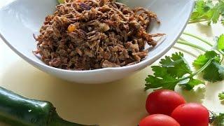 Carne Deshebrada de Res -- The Frugal Chef