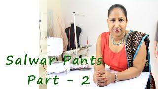 getlinkyoutube.com-How to make Salwar pants - cutting the fabric - Part 2