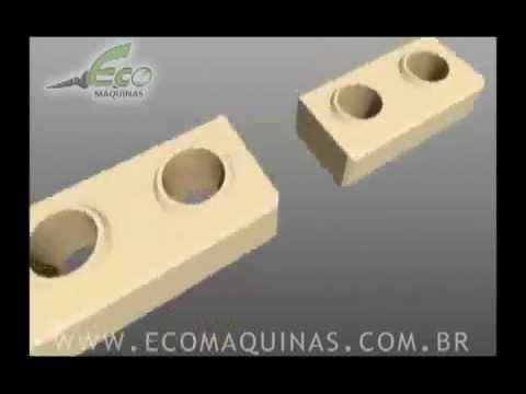 Construir com tijolos ecológicos - 01 - Modulação