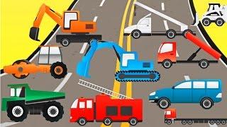getlinkyoutube.com-Cartoon for children - puzzle with cars  : Мультфильм для детей - Пазлы с машинками
