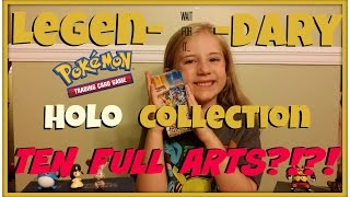 getlinkyoutube.com-Pokemon Legendary Shine Collection Japanese Opening: TEN FULL ARTS!!  伝説キラコレクション