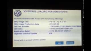 getlinkyoutube.com-Nawigacja Volkswagen RNS 510 - update, aktualizacja firmware