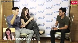 "getlinkyoutube.com-PEPtalk Challenge. ""Punch. Love. Drunk"" with Kylie Padilla and Martin del Rosario"