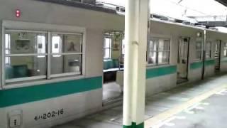 getlinkyoutube.com-珍事!?'10.3.28常磐緩行線上り203系故障~E233系に車両交換で松戸乗換