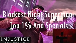 Injustice Gods Among Us iOS - Blackest Night Superman Top 1% and Specials