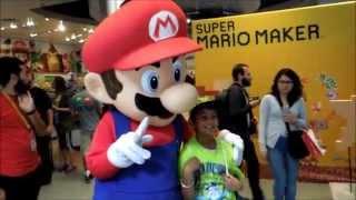 Super Mario Maker Special Event at Nintendo World