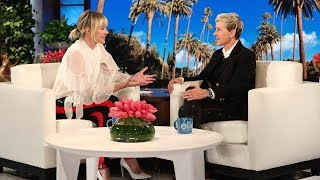 Portia Gives Ellen One of the Best Birthday Presents Ever width=