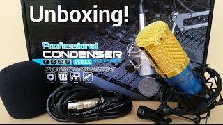 getlinkyoutube.com-Shengyue BM-800 Condenser Microphone - Unboxing!