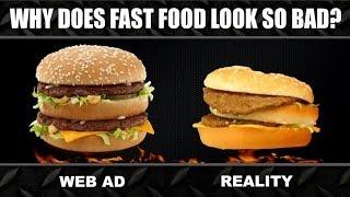 getlinkyoutube.com-Fast Food ADS vs. REALITY Experiment