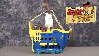 getlinkyoutube.com-Captain Jake and the Never Land Pirates Mighty Colossus from Fisher-Price