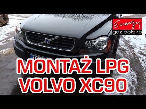 Montaz LPG Volvo XC90 z 2.9 Turbo 310KM 2003r w Energy Gaz Polska na gaz BRC SQ P&D!