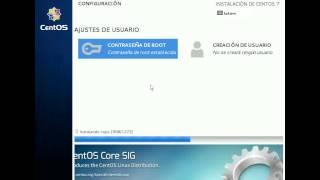 getlinkyoutube.com-Linux CentOS 7 - Instalacion Modo Gráfico