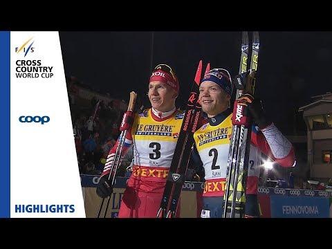 Норвежский лыжник бросил бежать за несколько метров до финиша, думая, что победил