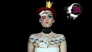 getlinkyoutube.com-NYX SPAIN FACE AWARDS // Cuento de hadas // Reina de corazones