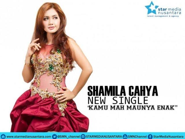 KAMU MAH MAUNYA ENAK - SHAMILA CAHYA karaoke dangdut (Tanpa vokal) cover