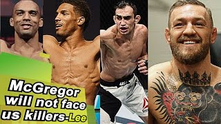 'Conor McGregor will fight Woodley before he fights us killers at 155'... Robbie Lawler training