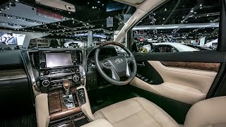 getlinkyoutube.com-2015 New Toyota Alphard 2.5 G Interior & Eksterior