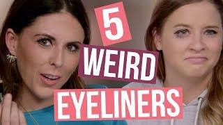 getlinkyoutube.com-5 Different Types of Eyeliners (Beauty Break)