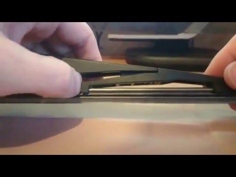 Замена резинки дворника (щетки стеклоочистителя) на Opel astra J GTC
