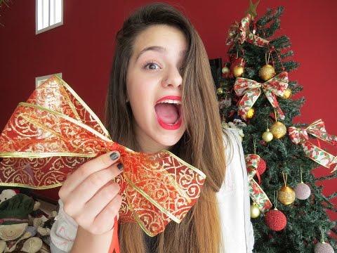 Faça você mesma: Laços para o Natal