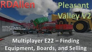 getlinkyoutube.com-Farming Simulator 15 MP Pleasant Valley V2 E22 - Loading Boards and Selling