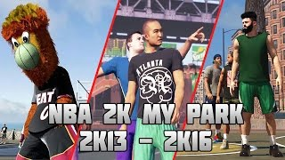 getlinkyoutube.com-History of NBA 2K MyPark - (2K13-2K16)