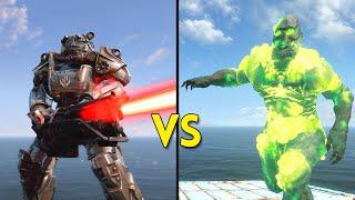 getlinkyoutube.com-Fallout 4 - 100 Brotherhood of Steel VS 50 Ghouls - Battles #11