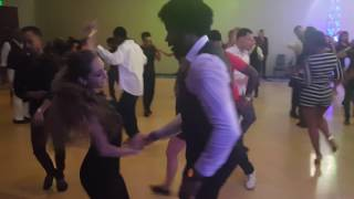 getlinkyoutube.com-Denisse cambria and Terry salsa alianza social dancing.