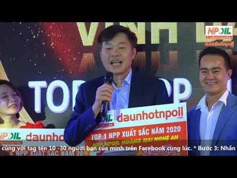 NPOIL - VINH DANH TOP 5 NPP XUẤT SẮC NĂM 2020