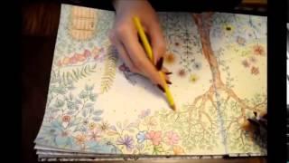 Secret Garden   Coloring book   YouTube 480p