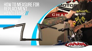 Motorcycle Handlebars - How to Measure for Replacement Handlebars