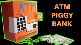 getlinkyoutube.com-How to make an ATM PIGGY BANK at Home   Just5mins #2