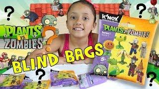 getlinkyoutube.com-Plants vs. Zombies K'nex Mystery Packs Series 1 Opening (4 Blind Bags)