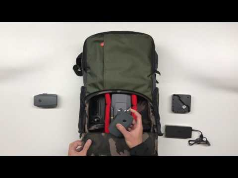 How to protect DJI Mavic with Manfrotto Street Backpack