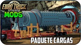 getlinkyoutube.com-Cargo Pack Pegasus | Cargas Grandes | Euro truck simulator 2 | 1.17 - 1.18